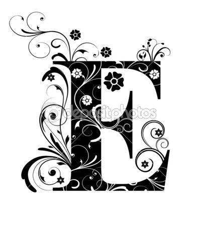Fabulous sierlijke letter d - Google zoeken | sierletters | Pinterest UO92