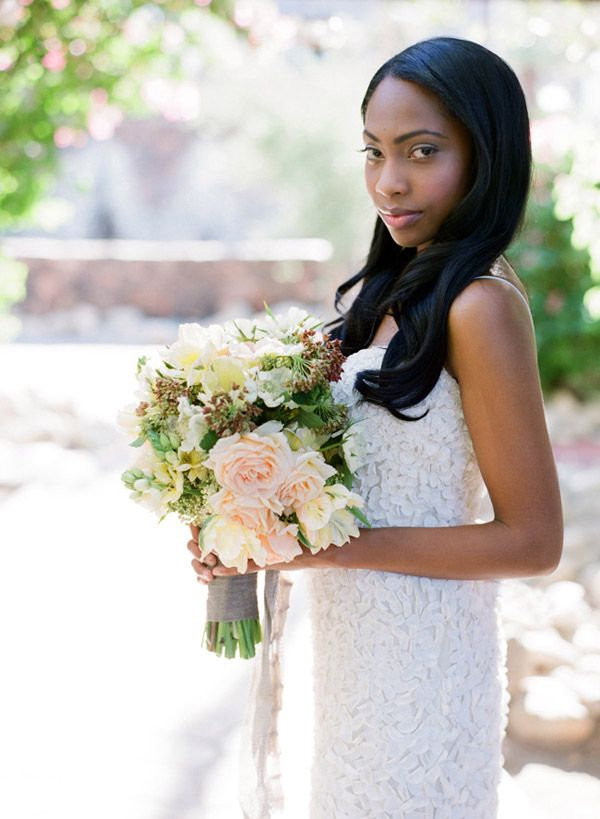 African American Wedding Hair