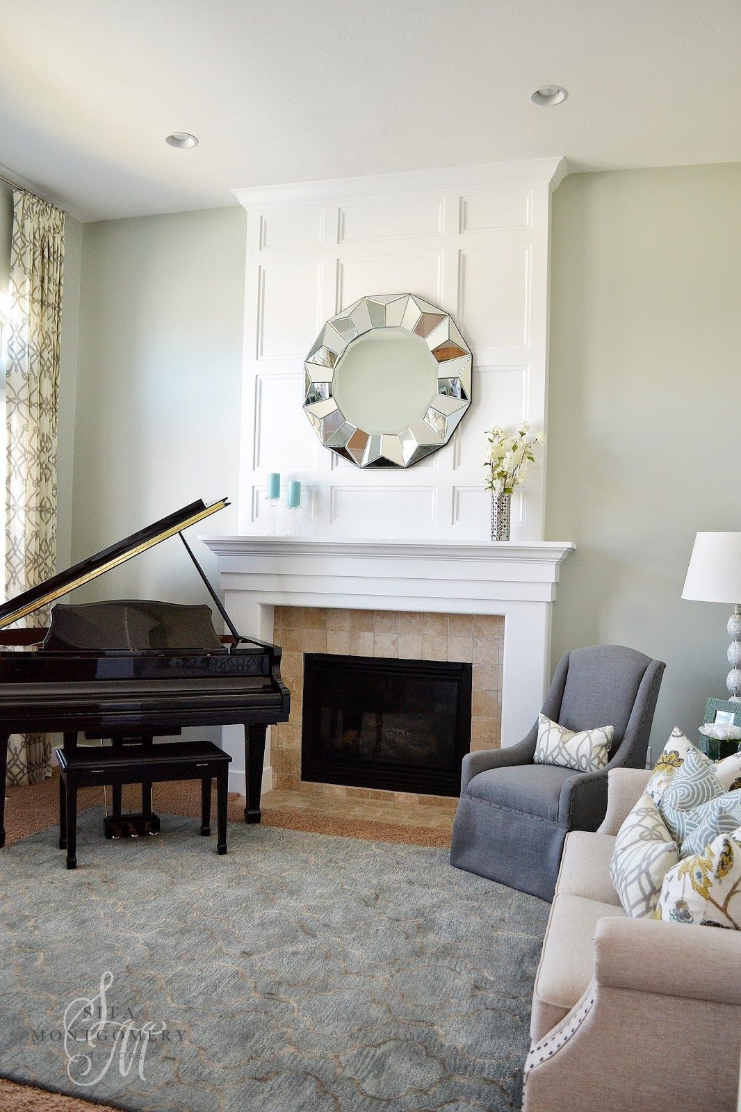Sita Montgomery Interiors\' stunning living room makeover featuring ...