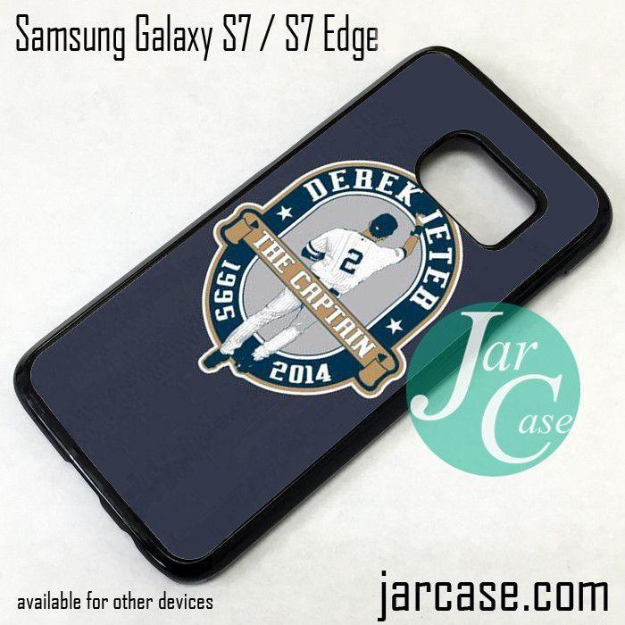 Derek Jeter The Captain Phone Case for Samsung Galaxy S7 & S7 Edge