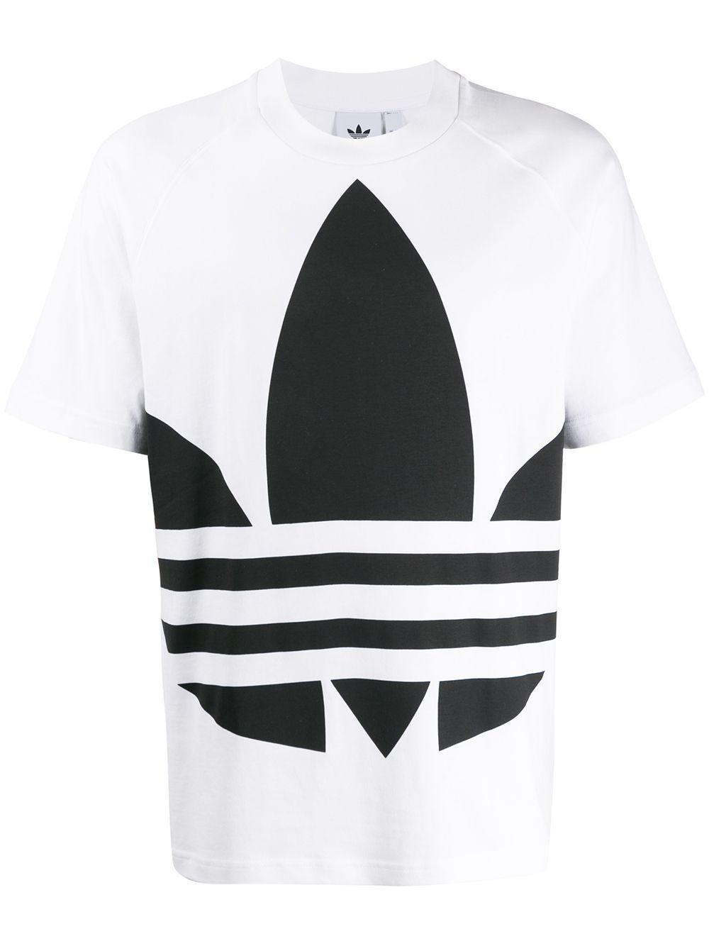 Adidas Logo Print T Shirt In 2020 Adidas Logo T Shirt Adidas