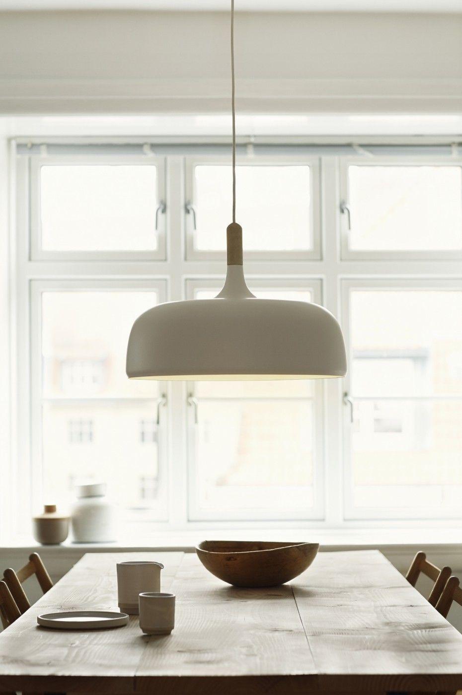 Acorn White Over Dining Table Pendant LightsPendant