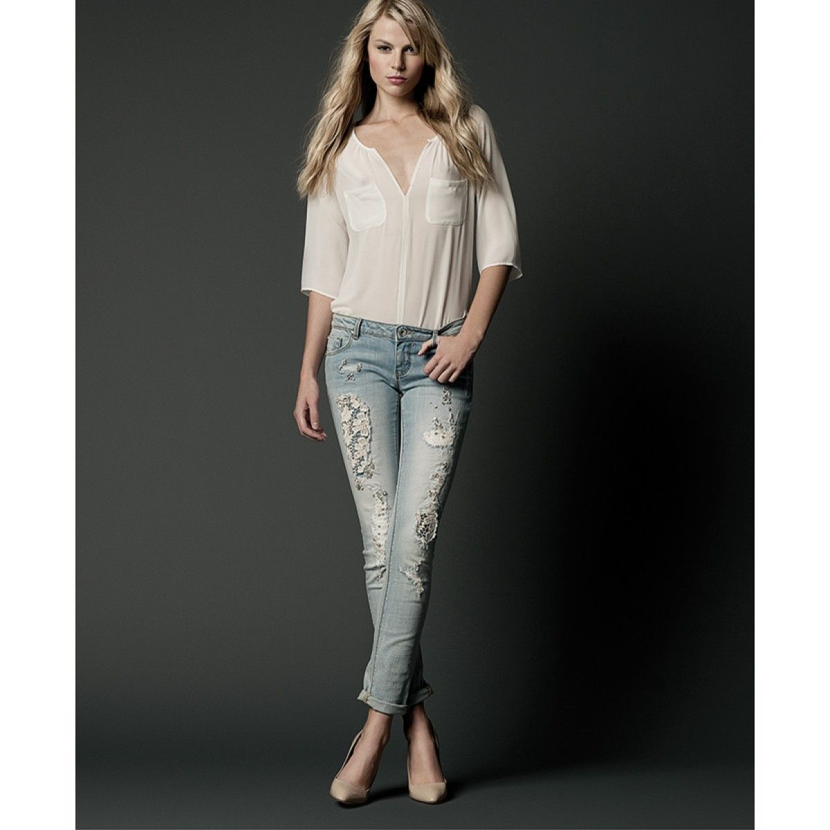 Fracomina denim fracomina Online skinny Five Greta1 Shop pocket pfYgp