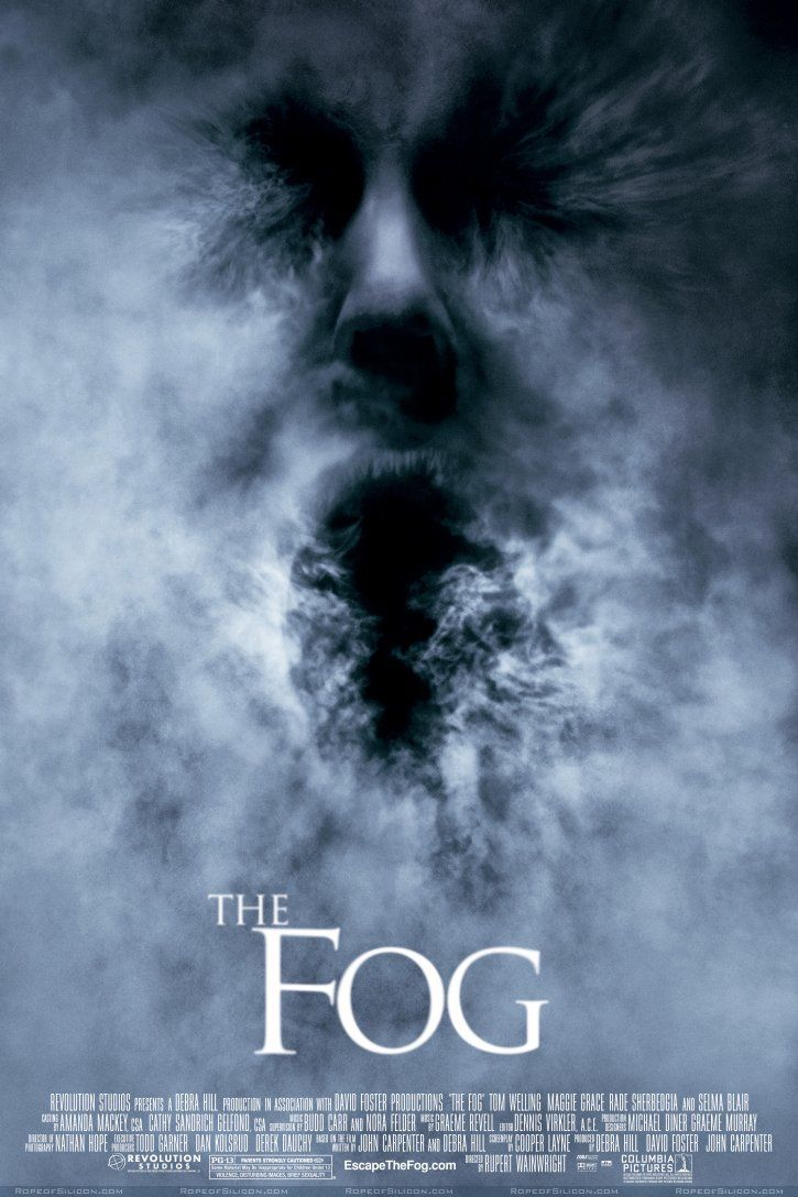 The Fog 2005 Horror Movie Posters Scary Movies Movies
