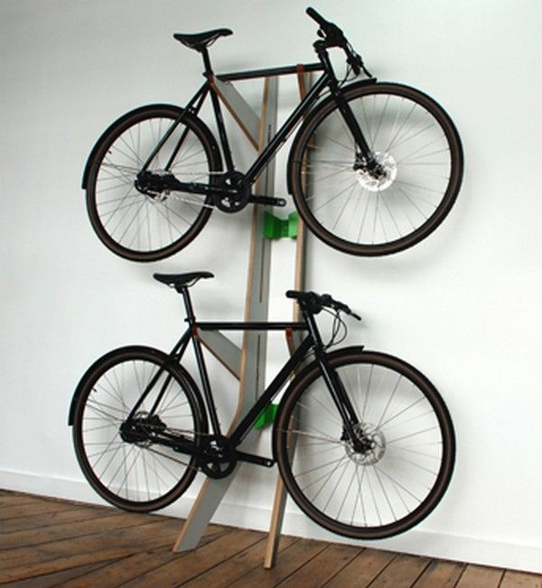 20 inspiring home storage solutions - Indoor Bike Rack