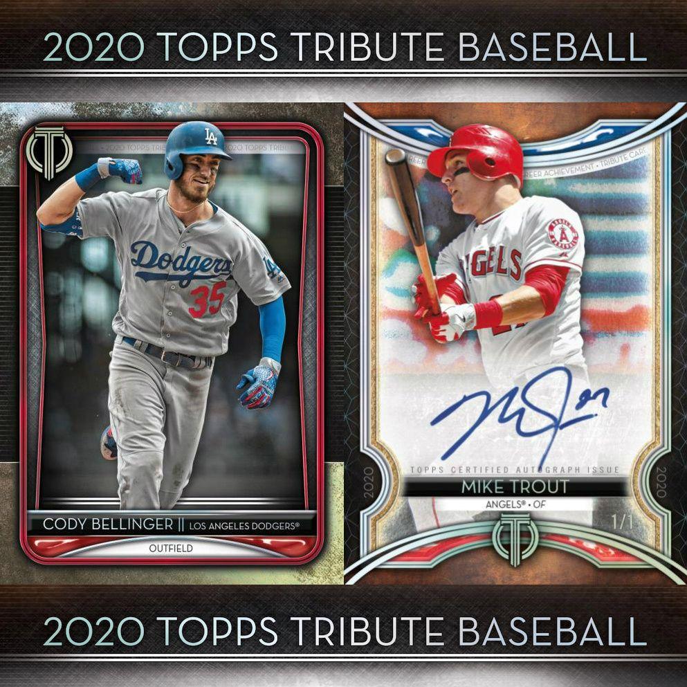 2020 Topps Tribute Baseball Checklist Set Details Boxes Reviews Date Baseball Baseball Cards Cards