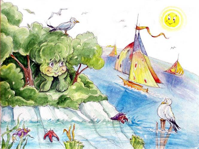 Acquerelli Bambini ~ Illustrazioni per bambini. acquerello e matita su carta le mie