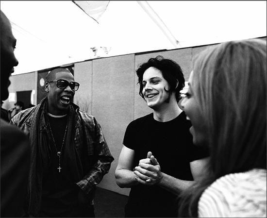 Jay Z, Jack White and Beyoncé.