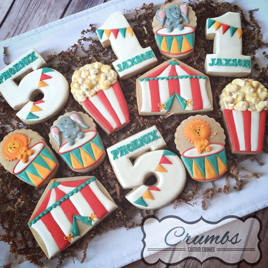 Circus Sugar Cookies pictures