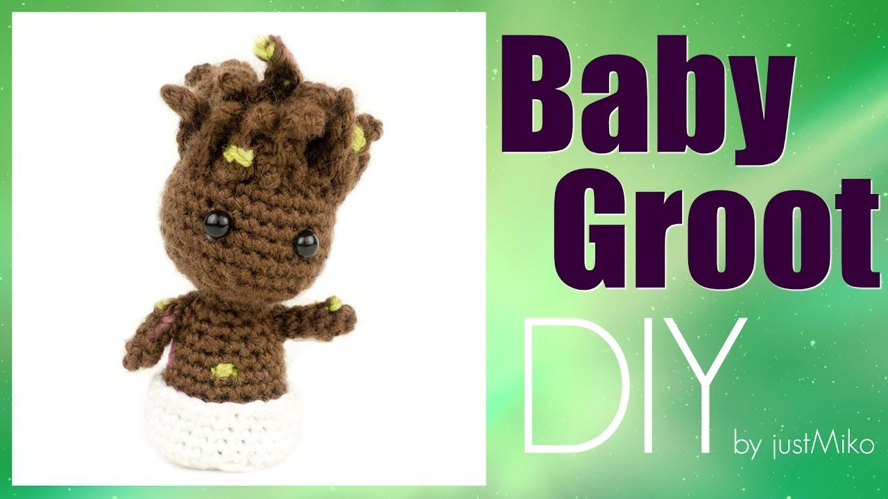 Baby Groot Häkeln Do It Yourself Amigurumi Marvel Nähen