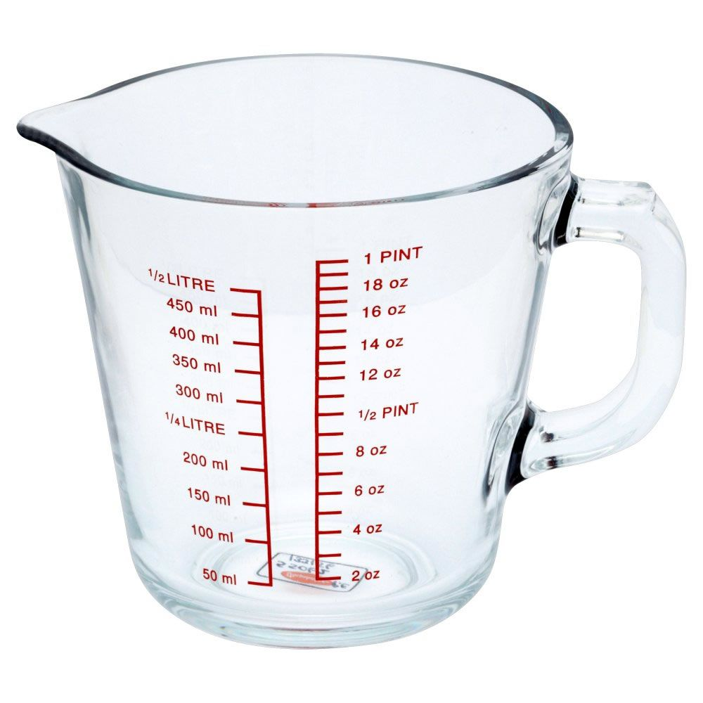 wilko measuring jug glass 1 pint christmas list baking utensils utensils baking supplies. Black Bedroom Furniture Sets. Home Design Ideas