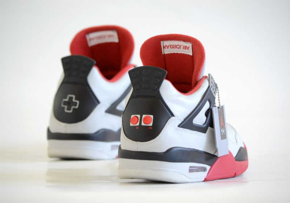 087a6eea037 Super Mario Bros Air Jordan 4 Customs | Sneakers | Air jordans ...