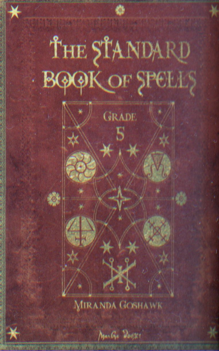 Harry Potter Book Cover Printable : The standard book of spells grade harry potter spell
