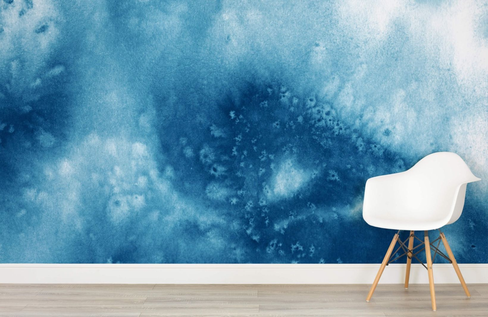 Dark Blue Abstract Wallpaper Muralswallpaper Bedroom