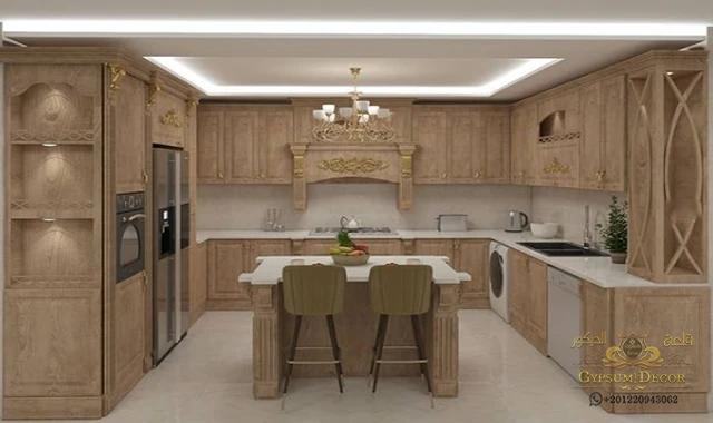مطابخ خشب 2021 In 2021 Modern American Kitchens American Kitchen Kitchen