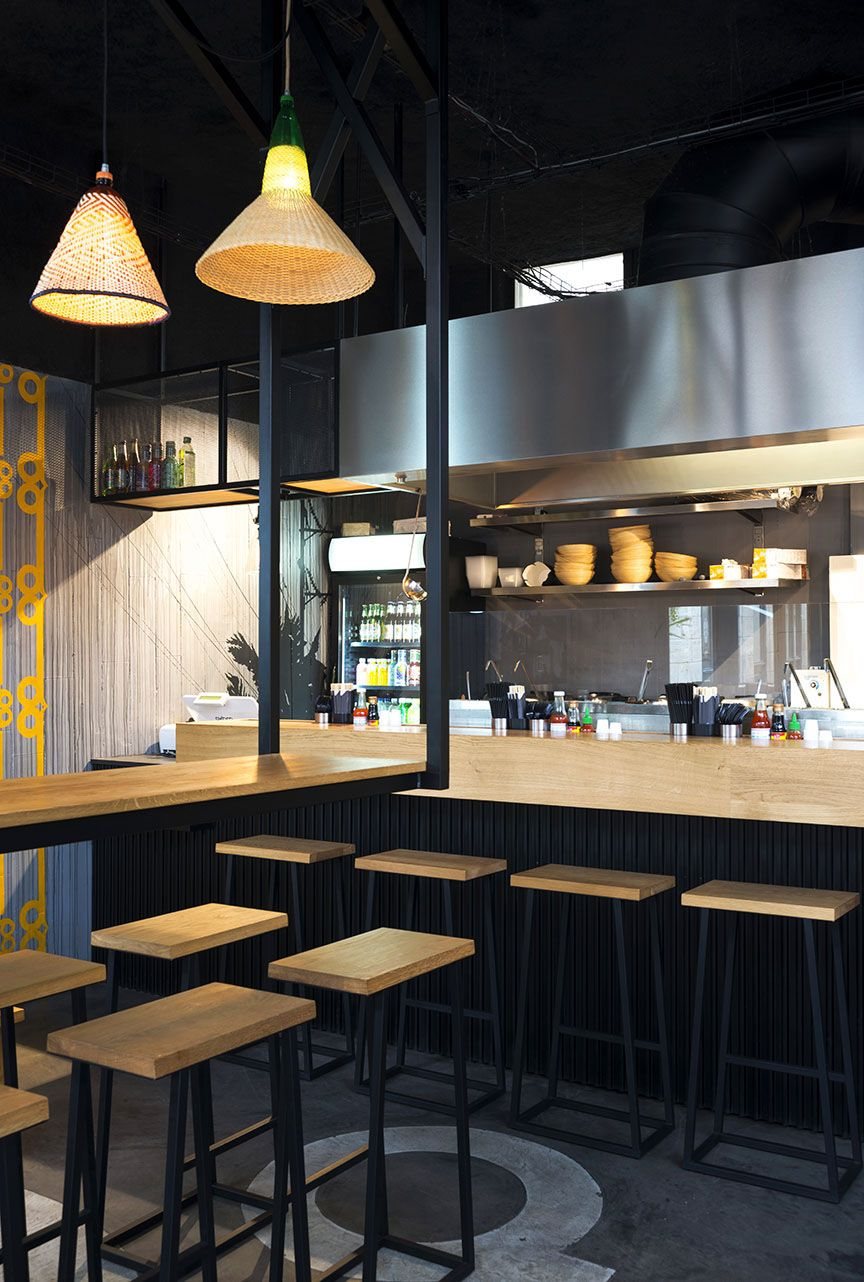 Hekla design global pitaya streetfood restaurant