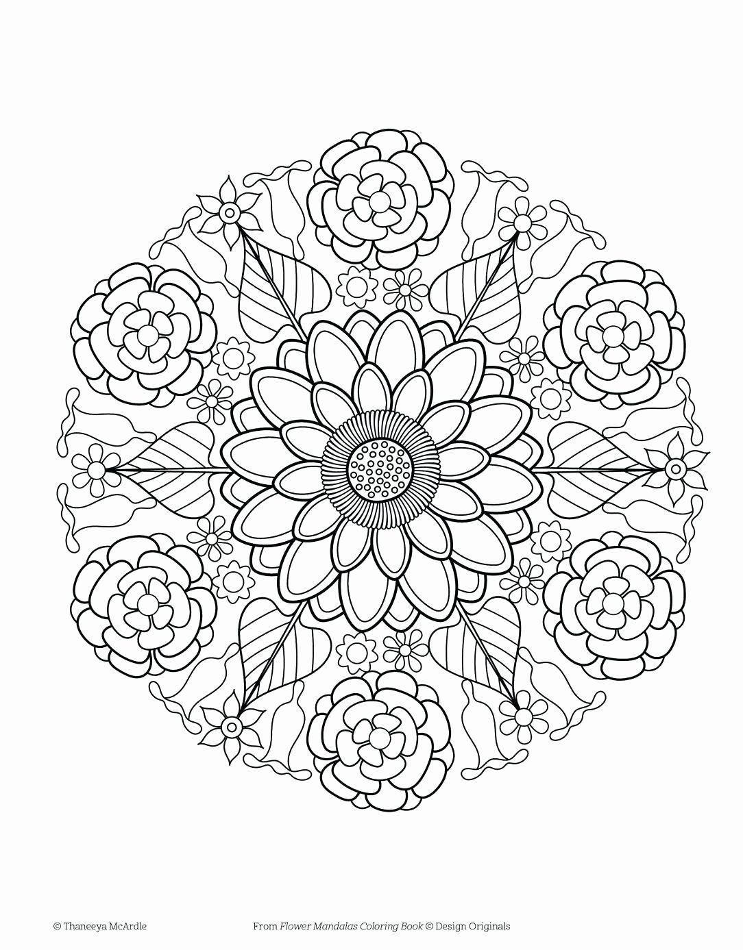 Pin Di Best Mandala Coloring Pages