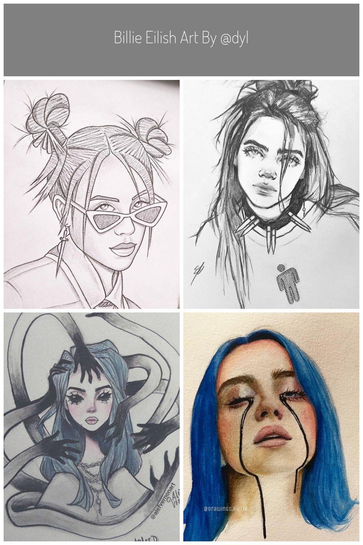 Billie Eilish Art By Dylan Design With Images Billie Eilish