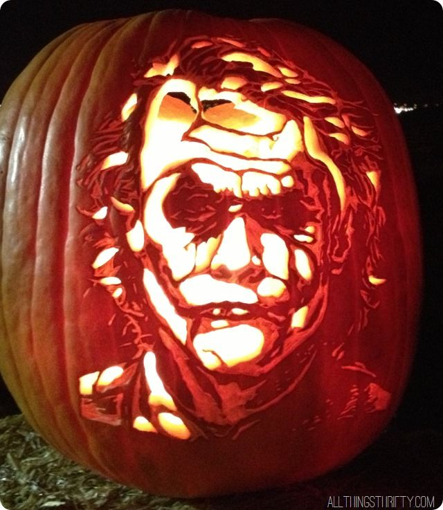 How To Carve And Shade Pumpkins Step By Step Tutorial Batman