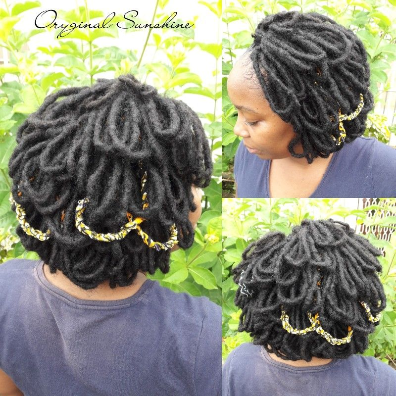 Pin by Oryginal Sunshine on Hairstyles (locks, braid