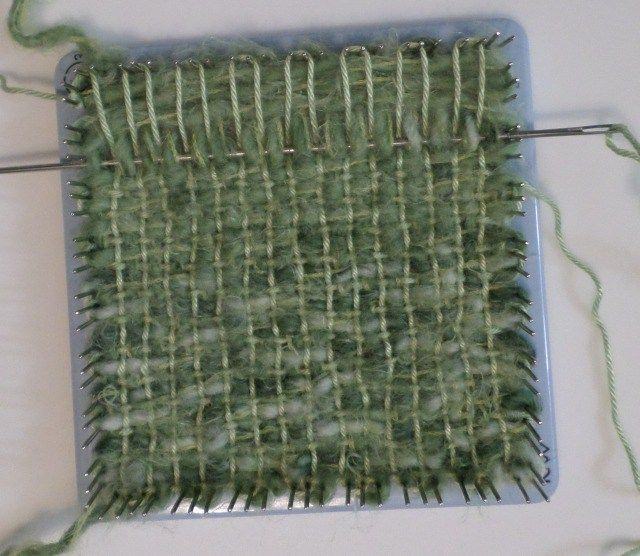 Adventures In Pin Loom Weaving Bulky Yarns Pin Loom