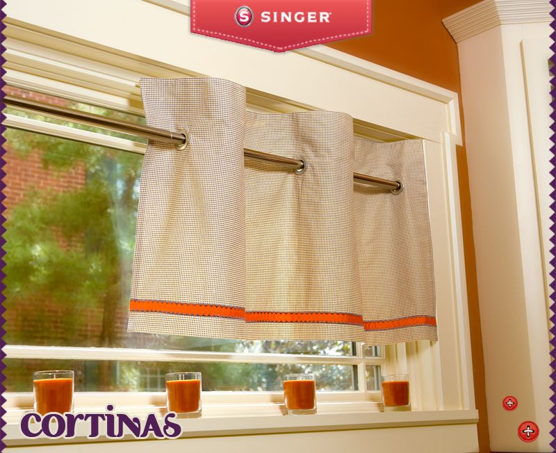 Cortinas cocina. Disponemos de muchísimas telas, de las mejores ...