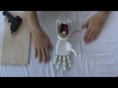 Diy Prosthetic Hand Arm Voice Controlled Youtube 3d Printing Projects Robot Arm Make A Robot