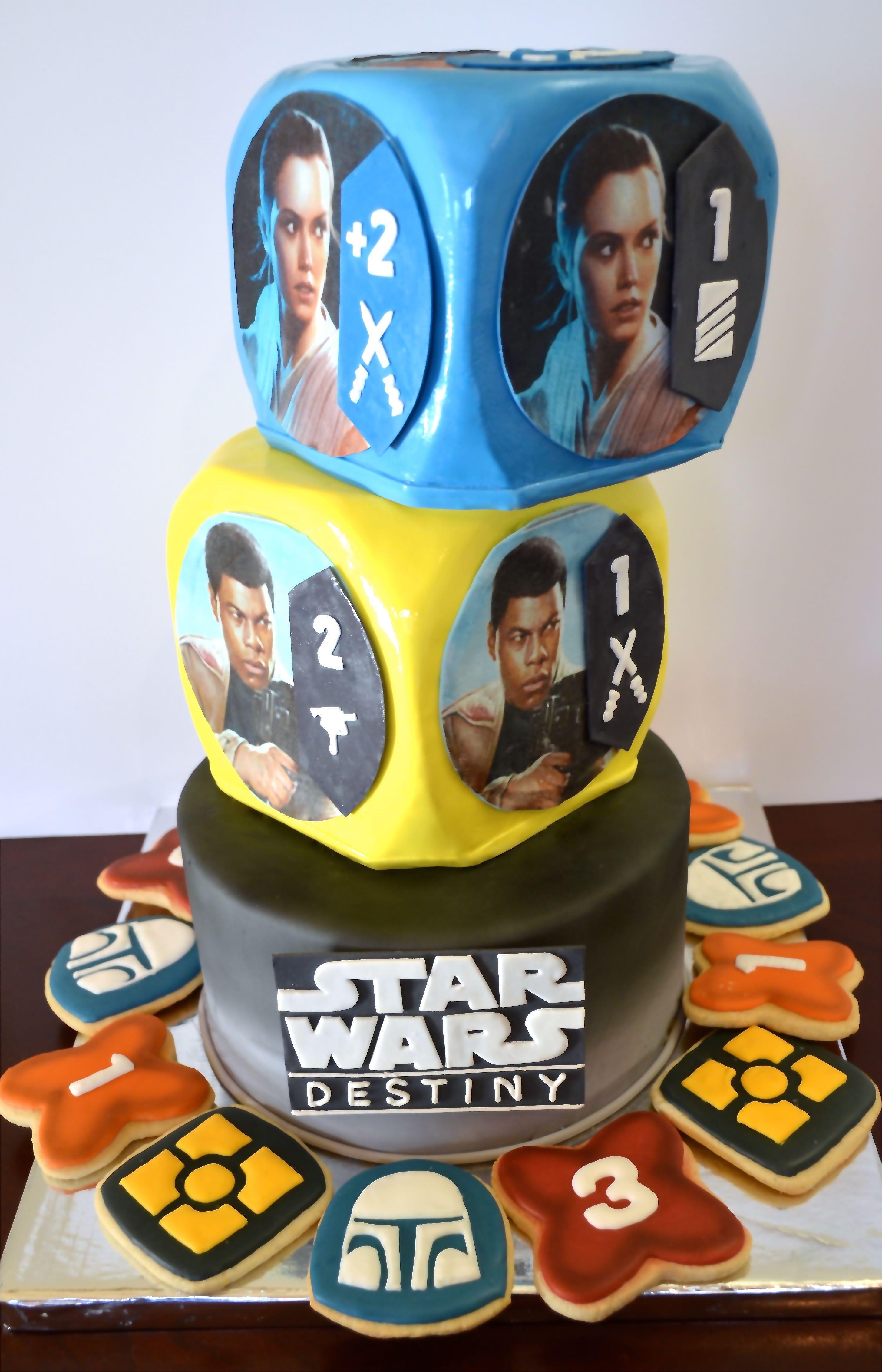 Star wars destiny cake star wars birthday star war