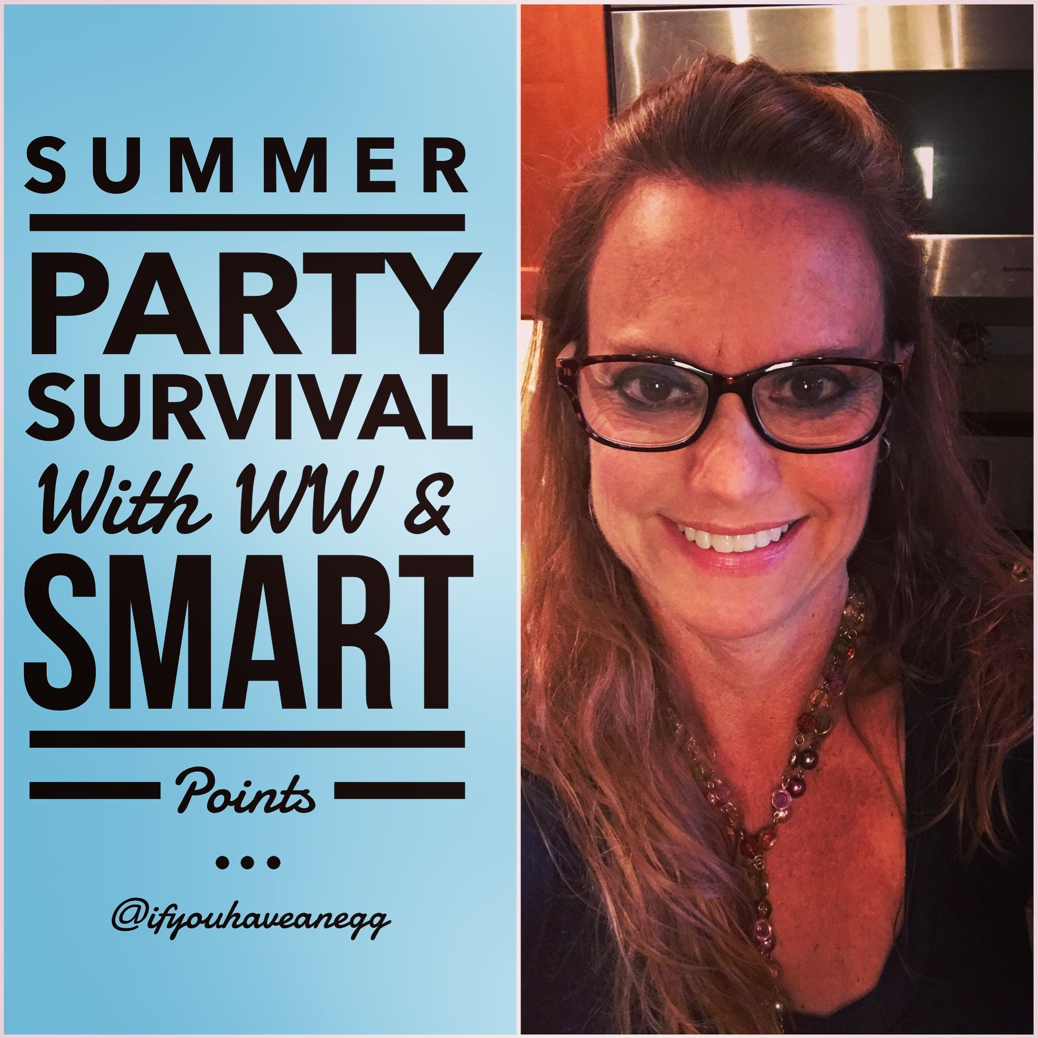 Memorial Day party?  Picnic?  Cookout?  Do you know what your best choices will be?  You better watch our Weight Watchers Summer Party Survival chat to find out...there were a couple of shockers!   To watch and get the entire list to copy, print and share free visit my blog (link in bio, search SUMMER) or visit this link: http://www.ifyouhaveanegg.com/?p=2079