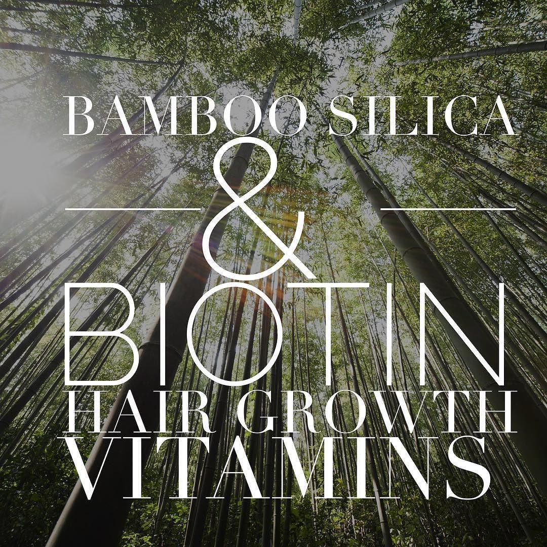 Bamboo Silica & Biotin Fabulous hair for 2017 VeganGluten