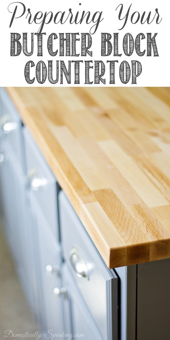 Prepping Your Butcher Block with @Domestically Speaking