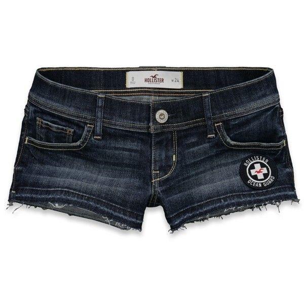 jean shorts, hollister co.