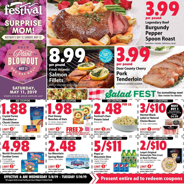 Current Ad Festival Foods Food festival, Food, Food ads