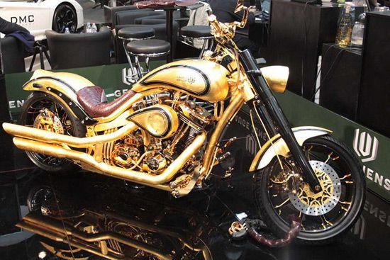 Golden Bike From Denmark Con Imagenes Motocicletas Coches Y Motocicletas Motos