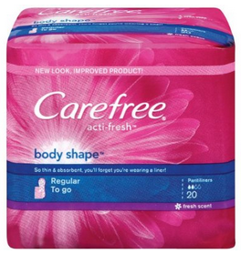 #Carefree Pantiliners Only $0.44 at #Target with #Coupon!! http://killinitwithcoupons.com/blog/?p=1080