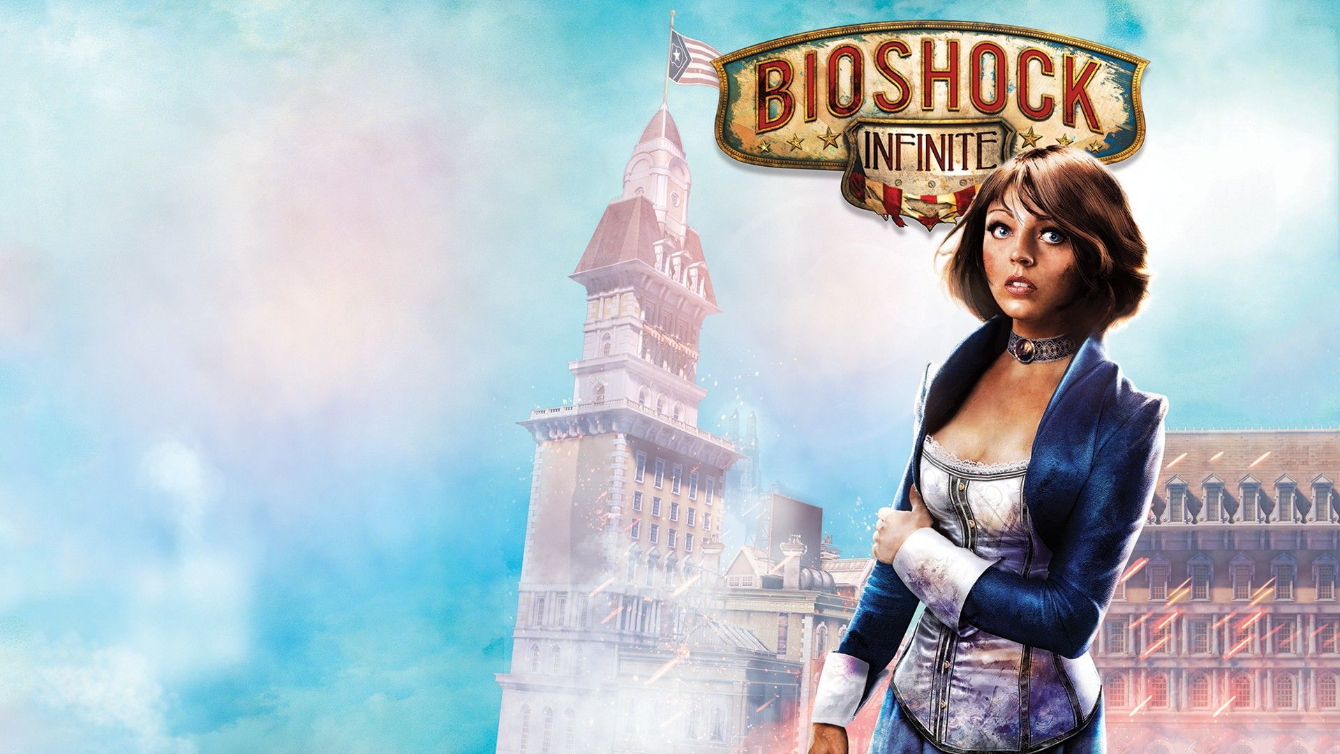 Download Wallpaper X Bioshock Infinite Elizabeth Booker HD