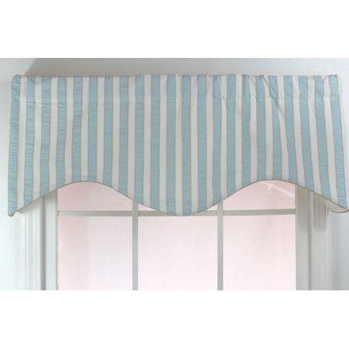 Found It At Joss Main Tonya Seersucker Stripe Curtain Valance Curtains