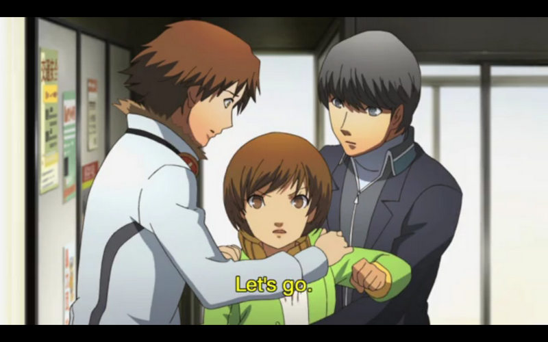 Anime Reviews Persona 4 The Animation Episode 3 We Are