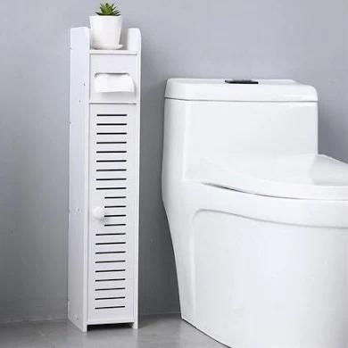 Gymax Small Bathroom Storage Corner Floor Cabinet Toilet Paper Holder Bath Organizer Google Shopping Small Bathroom Storage Paper Towel Storage Towel Storage