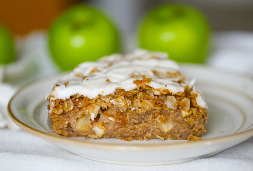 Old Fashioned Apple Cinnamon Coffee Cake Recipe In 2020 Vegan Apple Dessert Vegan Coffee Cakes Healthy Fruit Cake