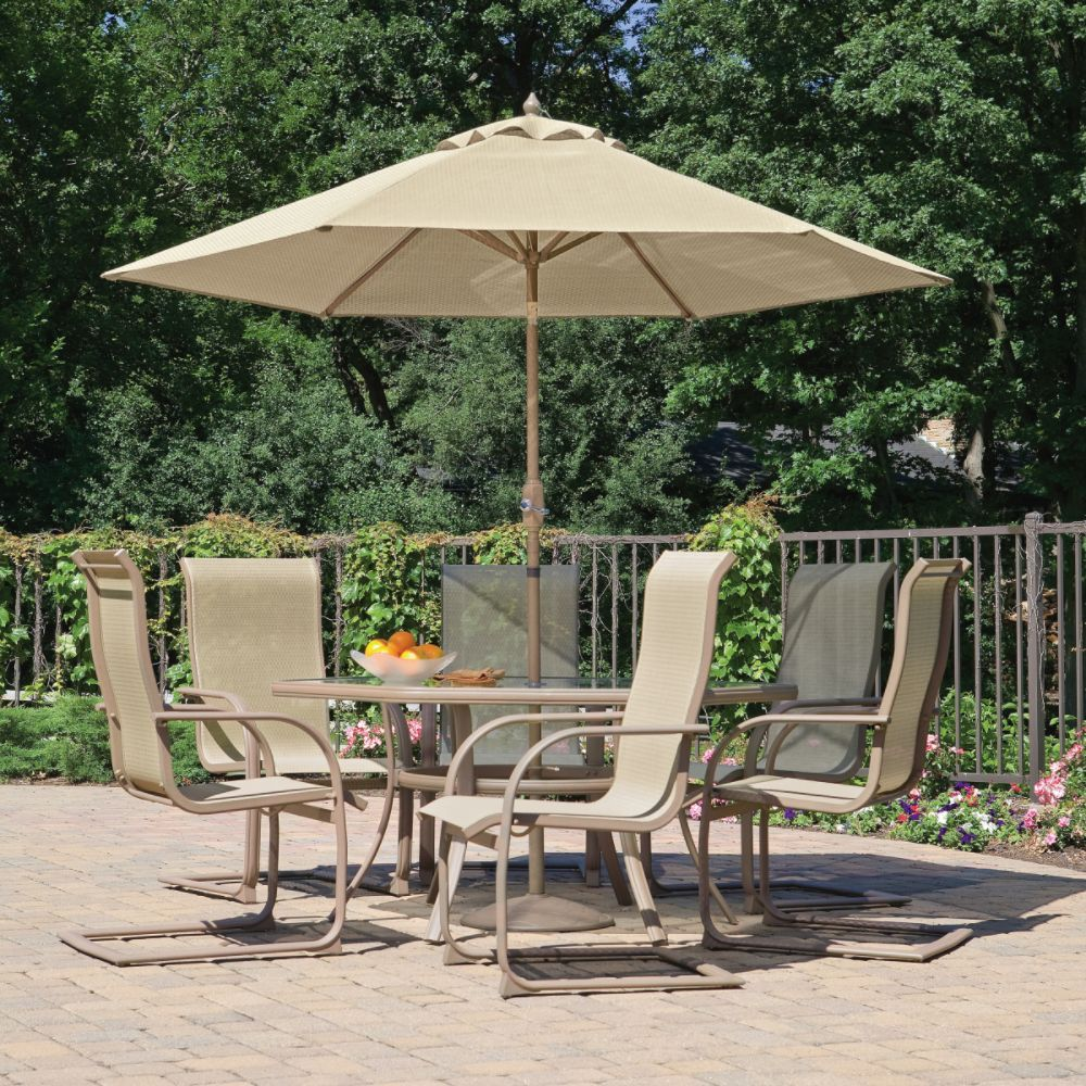 Patio Furniture With Umbrella For Sunny Summer Days Http Www  # Table De Jardin Sears
