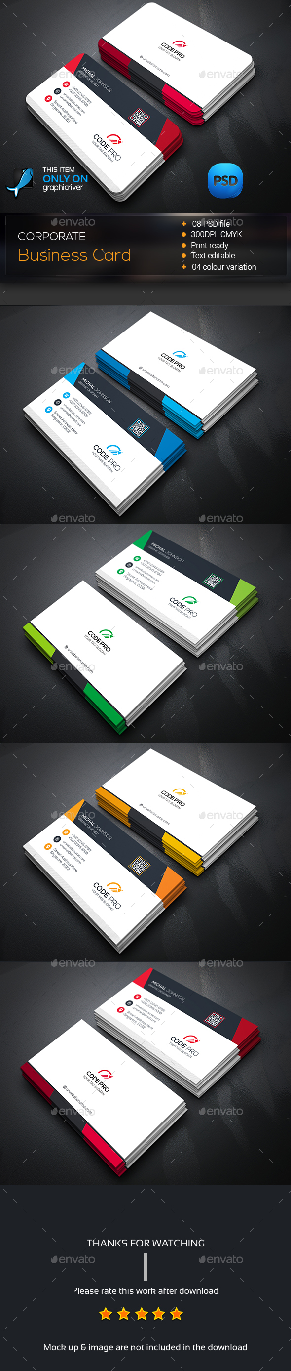 Creative business card template psd design download http creative business card template psd design download httpgraphicriver reheart Images
