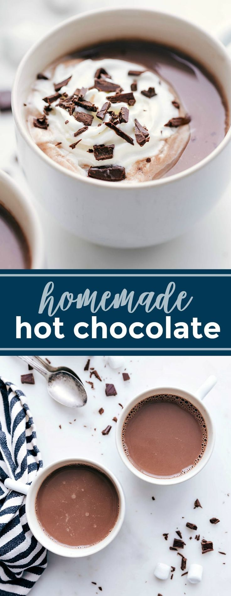 Hot Chocolate [EASIEST, BEST RECIPE] | Chelsea's Messy Apron