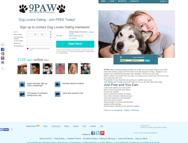 Dating Exclusively for PET LOVERS!