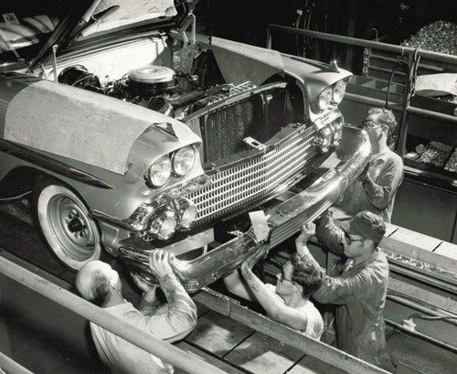 Crain Buick Gmc >> Chevrolet Impala bumper assembly [1958] | Vintage ...