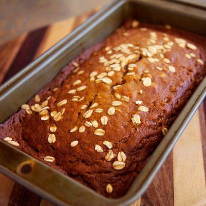 Healthy Recipe: Oatmeal Pumpkin Spice Bread