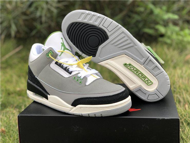 7a61b76b3aafc4 Buy Air Jordan 3 Tinker Chlorophyll Basketball Shoes For Men 136064-006
