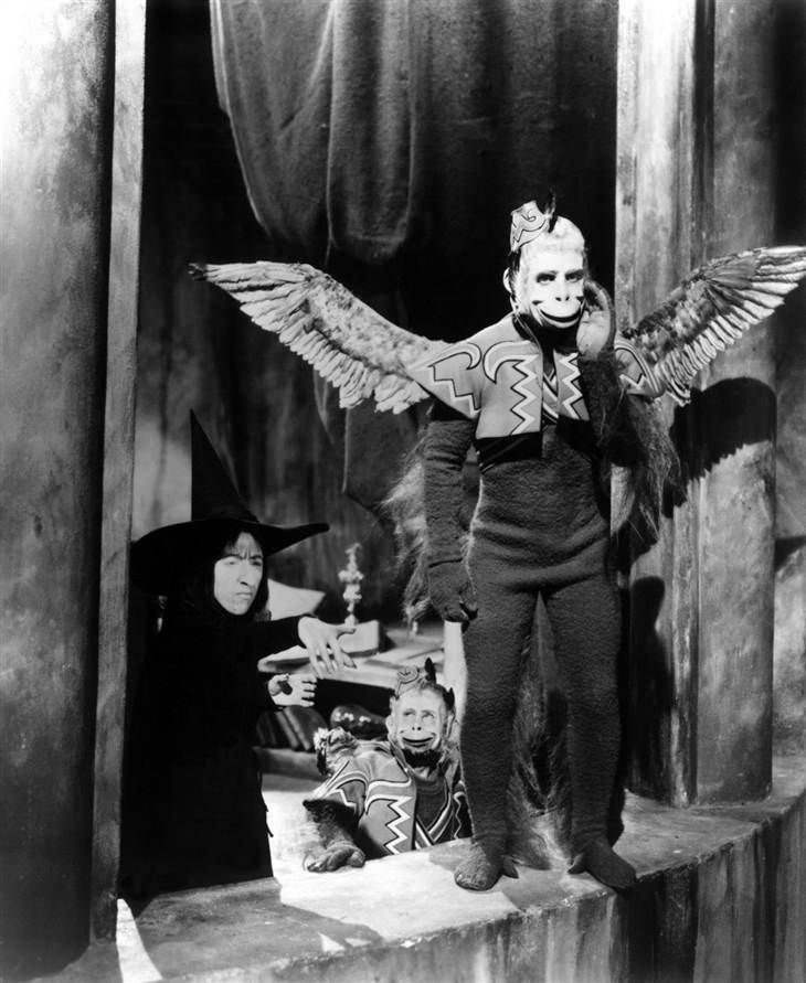 Image result for wizard of oz flying monkeys narc