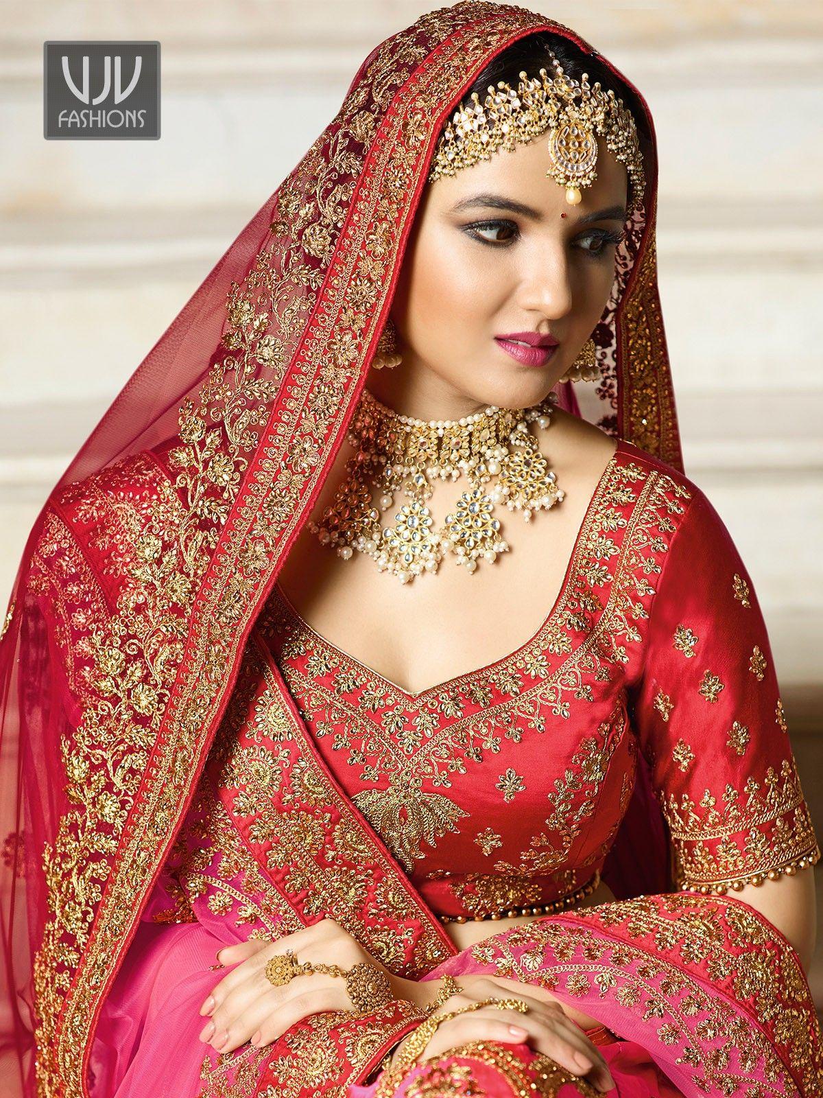 73e764a8de Awesome Pink Color Wedding Designer Lehenga Choli in 2019 | Elbise ...