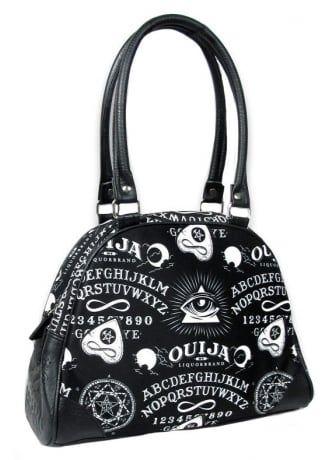 Liquorbrand Ouija Ii Bowling Bag Tattoo Dark Fashion Tote Backpack Crossbody